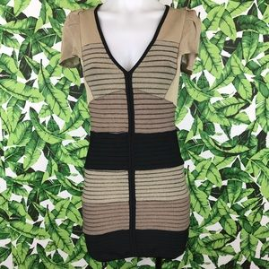 5 for $25 Guess by Marciano Brown Bodycon Dress